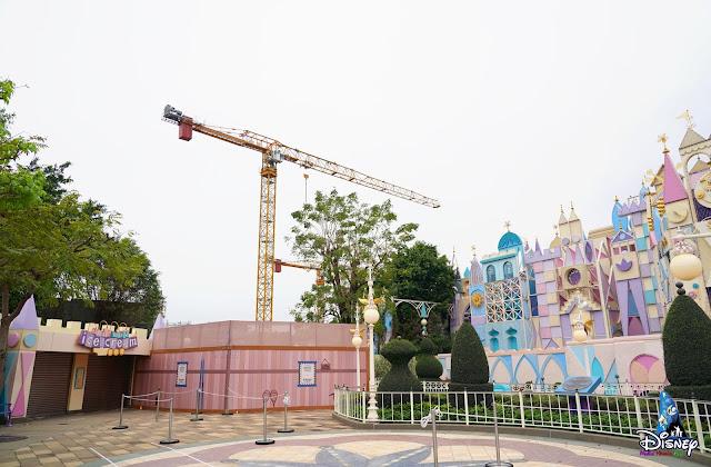 Construction Updates of the Arendelle World of Frozen (March, 2021), HKDL 擴建直擊報導2021年3月號魔雪奇緣世界