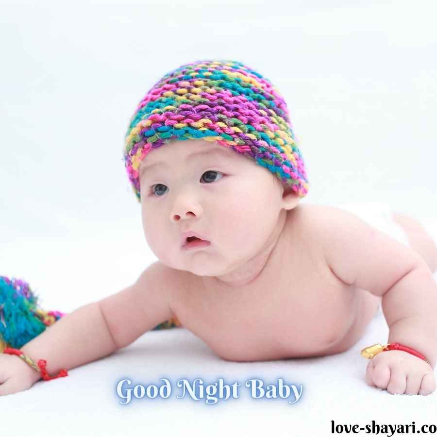 good night images baby girl