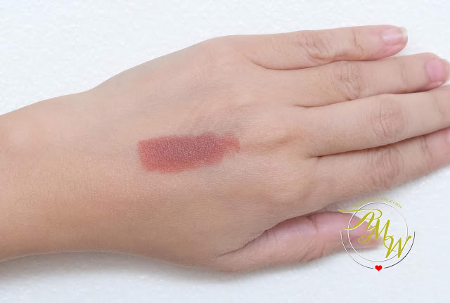 a swatch photo of BLK Universal All-Day Lip in Toffee review