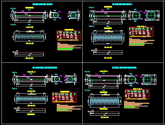 Bản vẽ chi tiết cấu tạo cống D400, D600, D800, D1000 thoát nước