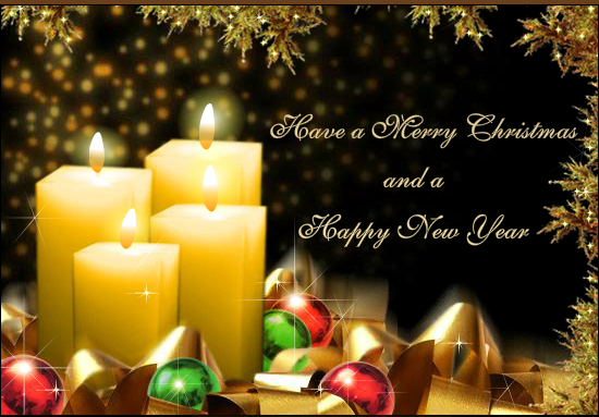 happy new year and merry christmas image