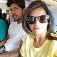 umesh yadav with her wife