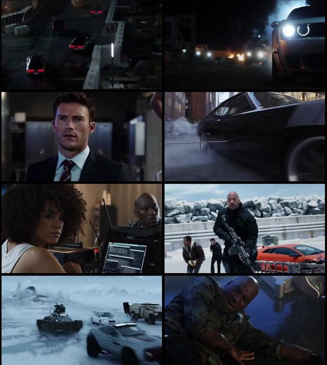 Screenshots Of Fast & Furious 8 2017 Theatrical Official Trailer Free Download HD 720P