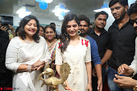 Samantha Ruth Prabhu Smiling Beauty in White Dress Launches VCare Clinic 15 June 2017 069.JPG