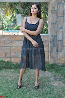 Pragya Nayan New Fresh Telugu Actress Stunning Transparent Black Deep neck Dress ~  Exclusive Galleries 009.jpg