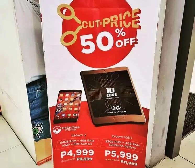 MyPhone Brown 2 Now Only Php4,999