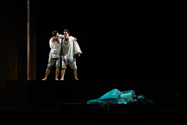 Handel: Giulio Cesare - Bradley Travis, Clint van der Linde, Susanna Hurrell - English Touring Opera 2020 (Photo Jane Hobson)