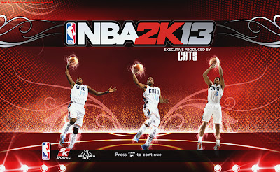 NBA 2K13 Charlotte Bobcats Startup Screen Patch