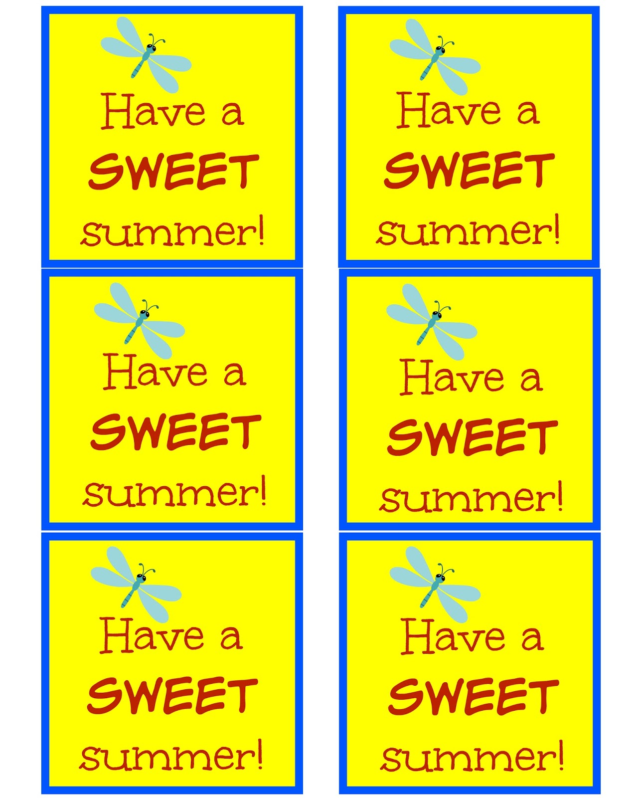 picture about Have a Sweet Summer Printable known as East Coastline Mommy: Incorporate a Adorable Summer months (finish of calendar year snacks