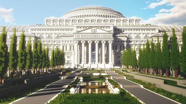 The Uncensored Library no jogo Minecraft/Reprodução