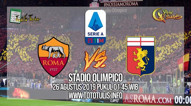 Prediksi AS Roma vs Genoa 26 Agustus 2019