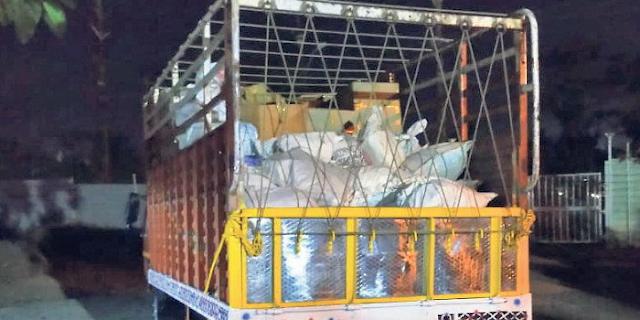 भोपाल के एतिहासिक दस्तावेजों से भरा ट्रक पकड़ा, एंटिक सामान भी है   BHOPAL NEWS