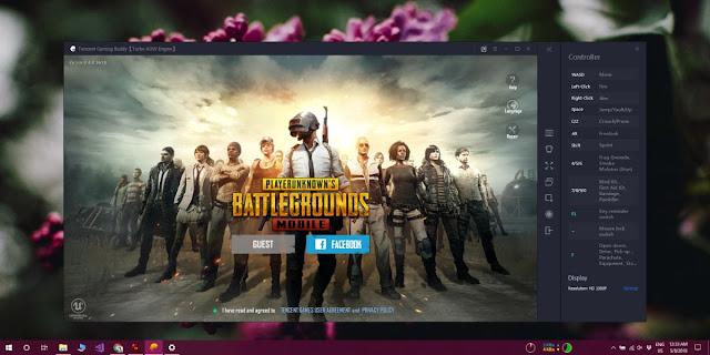 شرح كامل لتشغيل لعبة Battle Grounds الخاصه بالموبايل على الويندوز
