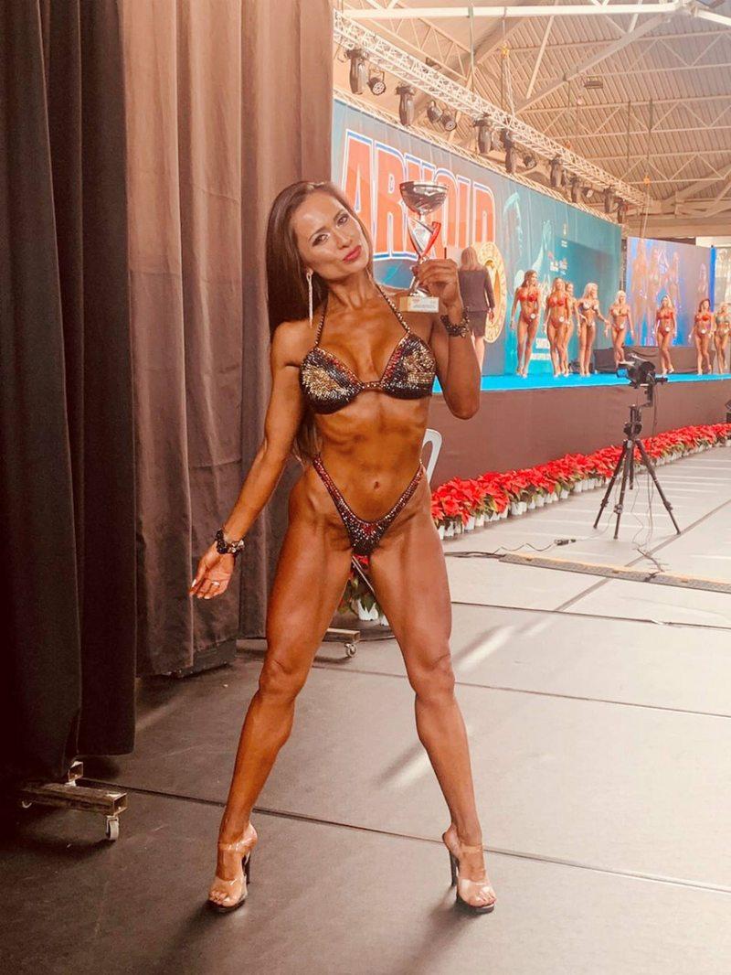 Ayleen Santander logró el sexto lugar en el Mundial Fitness