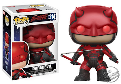 Toy Fair 2017 Funko Marvel TV Daredevil Season 2 Pops