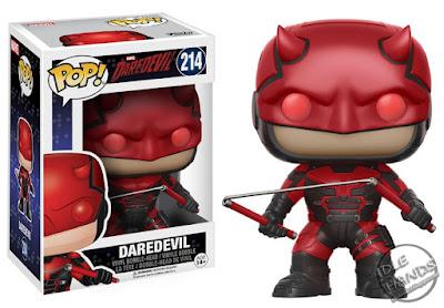 Toy Fair 2017 Funko Marvel TV Daredevil Season 2 Pops