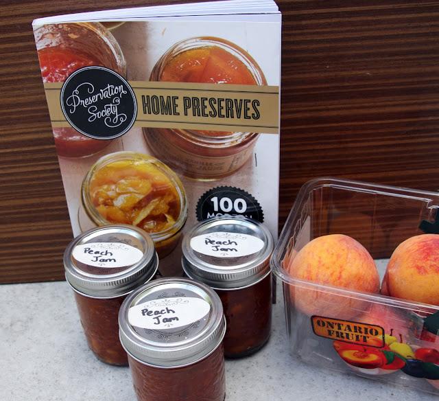 Preserving Peach Jam