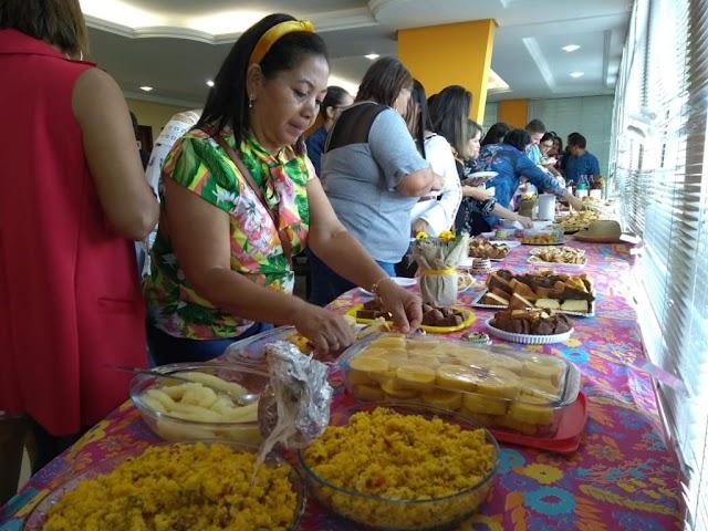 Secretaria de Educação realiza café da manhã para celebrar fim do semestre e discutir novos projetos