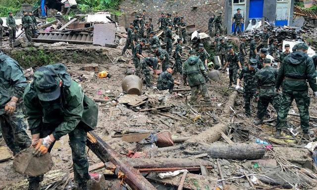 22 mortos e dez desaparecidos à passagem do tufão Lekima pela China
