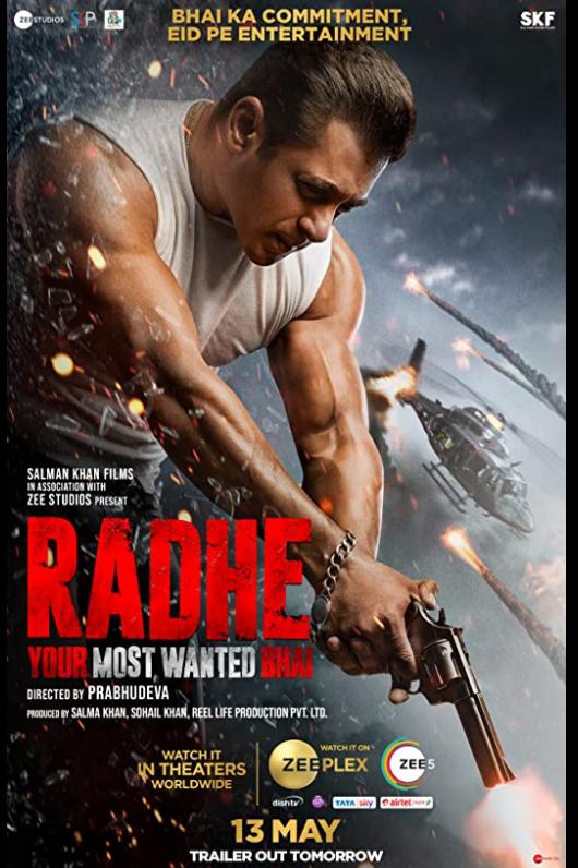 Radhe 2021 x264 720p WebHD Esub Hindi THE GOPI SAHI