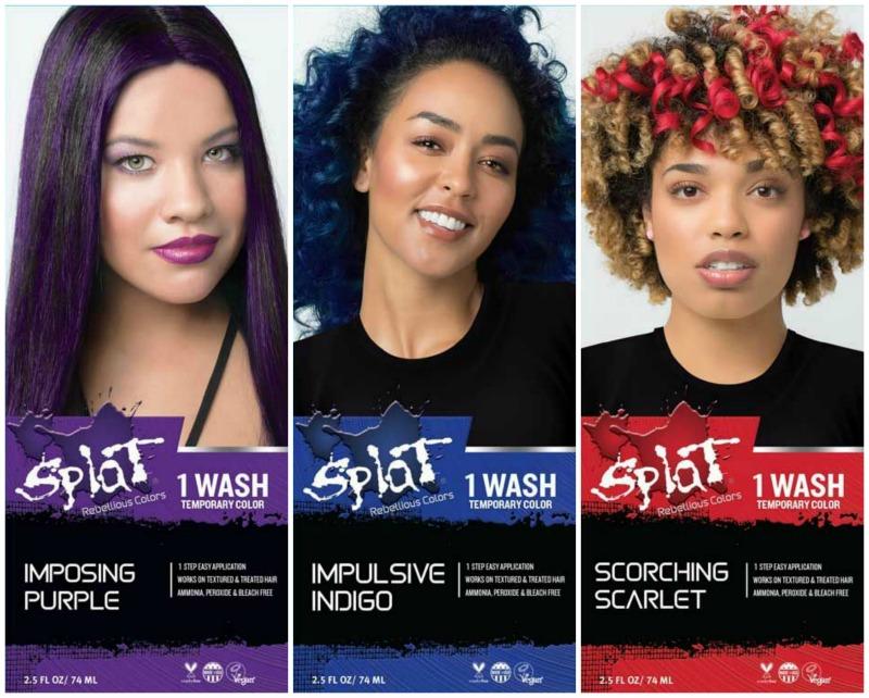 Splat Glow In The Dark Hair Dye Instructions Famous Hair Dye 2018