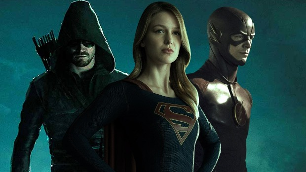 Supergirl Arrow The Flash