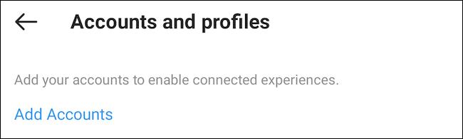 أضف حساب Facebook إلى Instagram