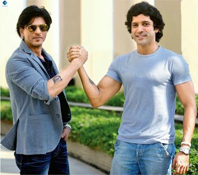 SRK and farhan Raees images
