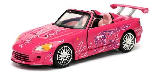 coleccion rapido y furioso, coleccion rapido y furioso jada tyos, coleccion rapido y furioso 1/32, Suki's Honda S2000