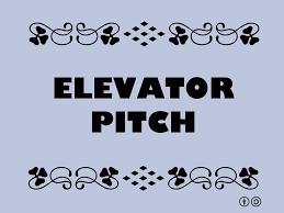 elevator pitch startup