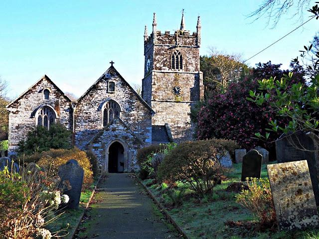 St.Symphorian Church, Veryan, Cornwall