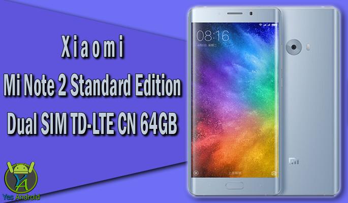 Xiaomi Mi Note 2 Standard Edition CN 64GB Specs Datasheet