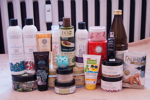 [341.] Denko maj 2016r.- wiele ulubieńców i naturalnych kosmetyków!
