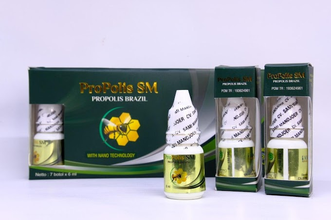 Walatra Propolis SM, Herbal Tetes Kaya Manfaat