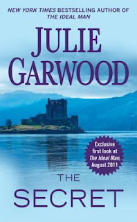 romance novel covers, historical romance, The Secret by Julie Garwood