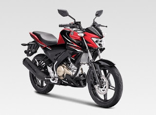 All New Vixion Metalic Red