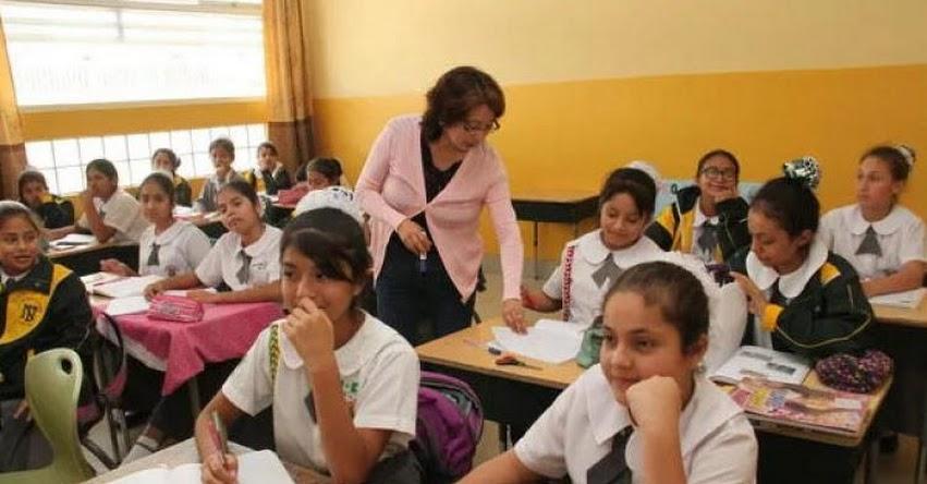 17 mil docentes de inicial se capacitarán para Evaluación de Desempeño 2018 convocado por el MINEDU