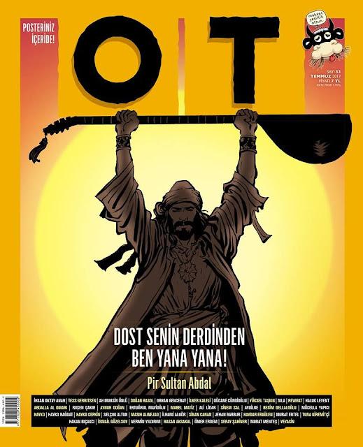 pir sultan abdal karikatür