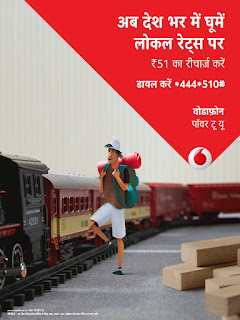 THIS FESTIVE SEASON, DELHIITES CAN TRAVEL WORRY FREE WITH VODAFONE ROAM LIKE HOME PACK