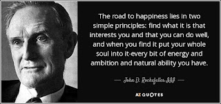 Motivational quote of the day by John D. Rockefeller