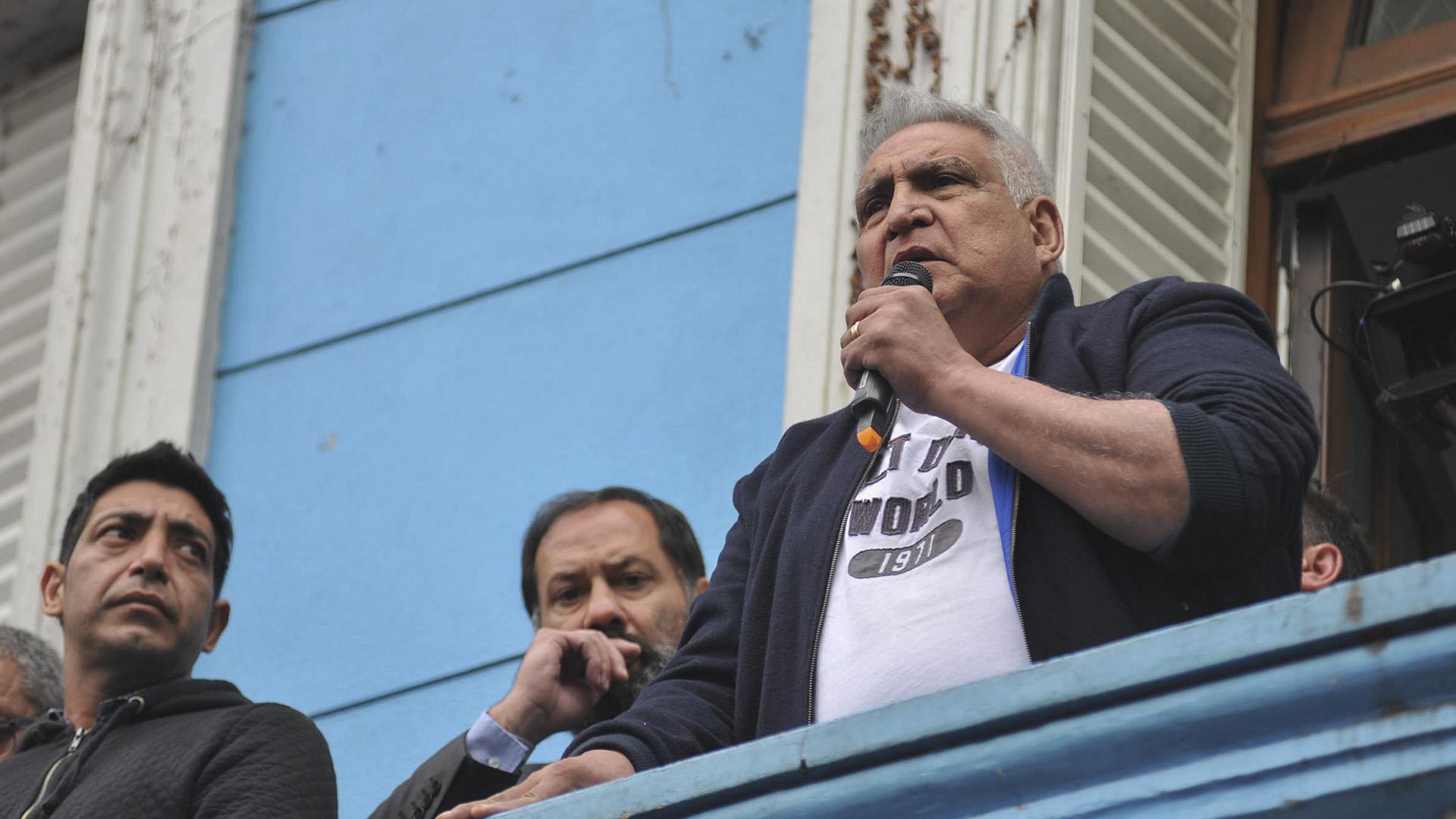 """Juan Pablo """"Pata"""" Medina vuelve a prisión domiciliaria por violar la prohibición de realizar actividades sindicales"""