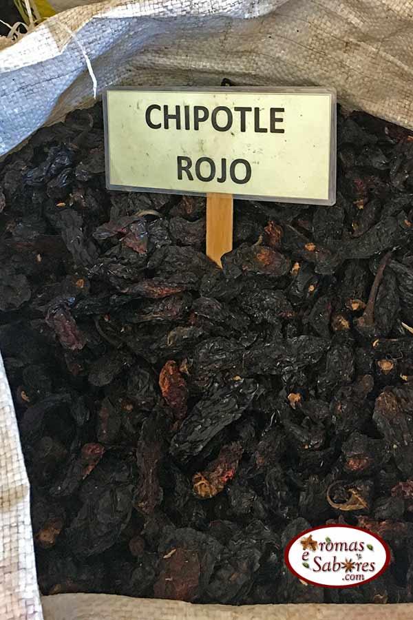Chipotle vermelho seco