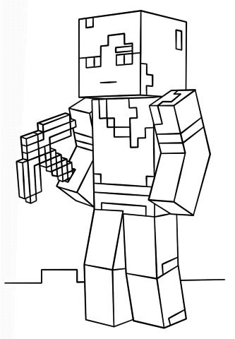 Lego City Kids Minecraft Desenhos Para As Criancas Colorir