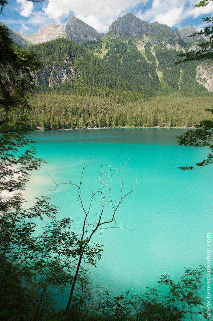 Viaje Dolomitas Italia lago di Tovel
