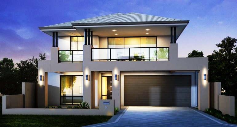 Gambar Rumah Mewah 2 Lantai