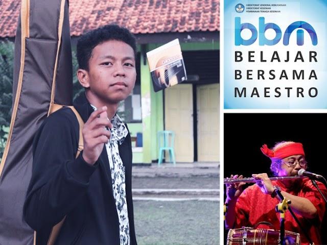 Hartadi Firmansyah, Siswa SMAN 1 Banjaran Lolos Seleksi Belajar Bersama Maestro (BBM) 2019