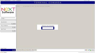 NeXT PDV Terminal Comanda - Consulta e Pedidos