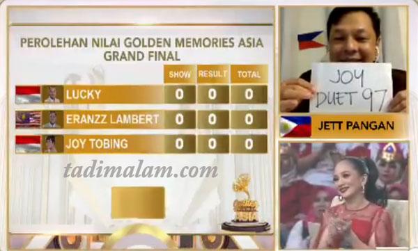 Grand Final Top 3 Besar Golden Memories Asia