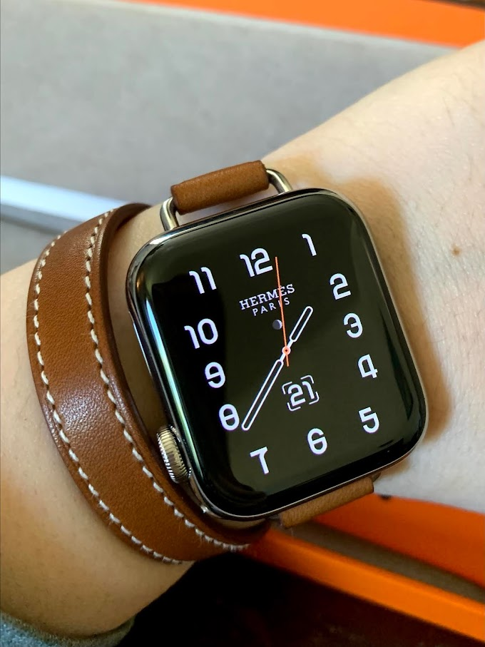 【ACCESSORIES】人生第一次擁有小愛🐎愛馬仕蘋果手錶 Apple Watch Hermés series 6 開箱(40mm不鏽鋼版&44mm太空黑版)