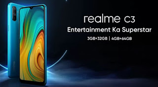 Realme C3 with Gaming Processor and Price and specification and information